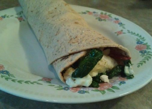 Mediterranean Breakfast Wrap