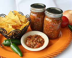 Home Made salsa for canning