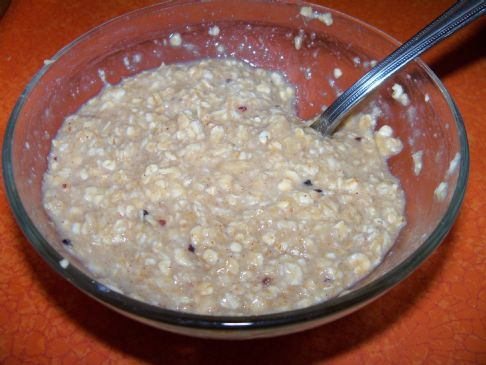 Homemade Instant Oatmeal with Flax