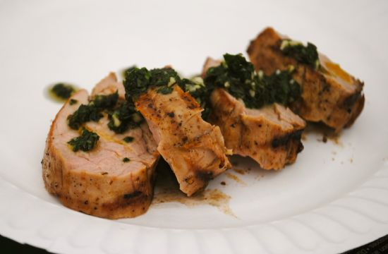 Pork Tenderloin with Chimichurri