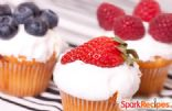 Low-Fat Vegan Berry Cupcakes