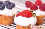Low-Fat Vegan Berry Cupcakes