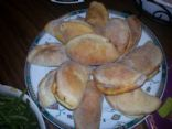 Cabbage and Sausage stuffed rolls (these are bread not traditional cabbage rolls)