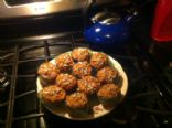 Loaded Whole Wheat Carrot Muffins