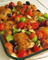 Chicken & Chorizo Bake