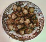sauteed bella with garlic