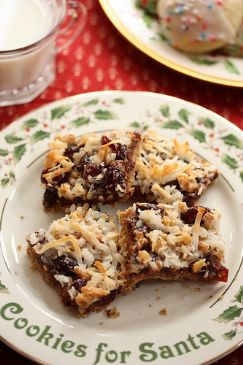 Lightened up seven layer bars