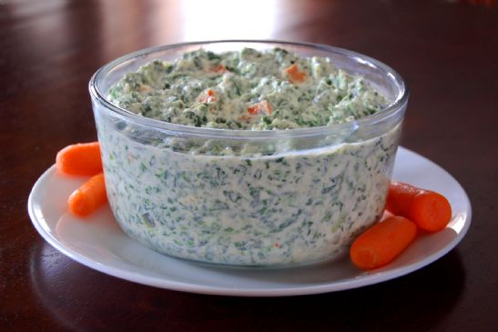 Mom's Renovated Spinach Dip