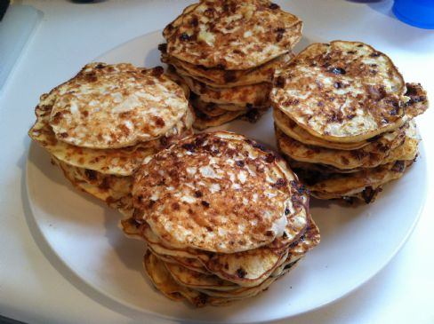 Cottage Cheese Pineapple Pancakes