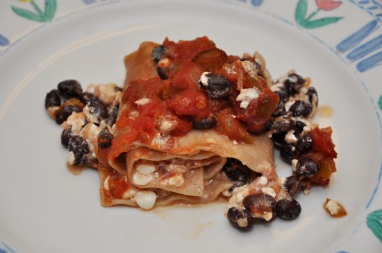 Meatless Lasagna Roll Ups