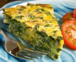 Pastry Free (Crustless) Zuchini Blossom Quiche