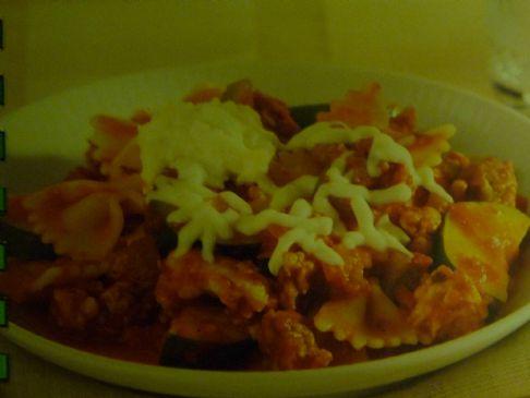 Skillet Lasagna with Vegetables