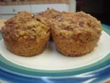 100 calorie whole wheat cranberry-carrot muffins