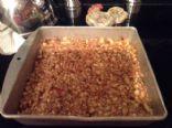 MAKEOVER: Peanut Energy Bars (no Added Sugar) (by REVCORNIE)