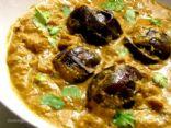 Bagara Baingan (Seasoned Aubergine)