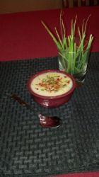 Bacon Cheese Cauliflower Soup