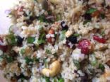 Curried Cashew Bulgur Salad