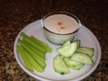My version of Nana's Creamy Clam Dip