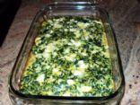 Spinach & Feta Casserole