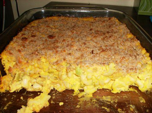 Mac n Cheese (with hidden veggies and tofu)