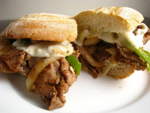 Steak and cheese sandwhiches