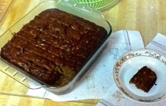whole grain pumpkin-banana bread (modified) 82 cal.