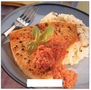 Romesco-Style Fish