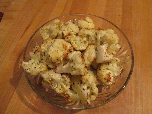 Herb Parmesan Roasted Cauliflower