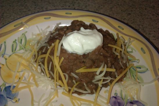 No Fry Refried Beans