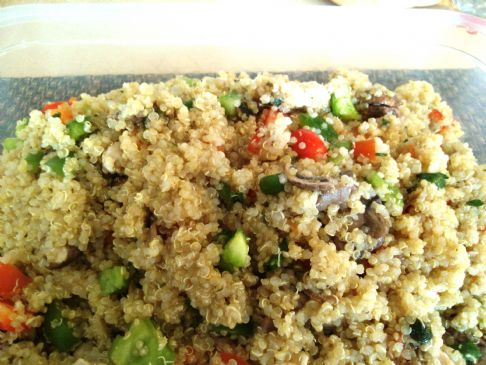 Quinoa vegitable medley