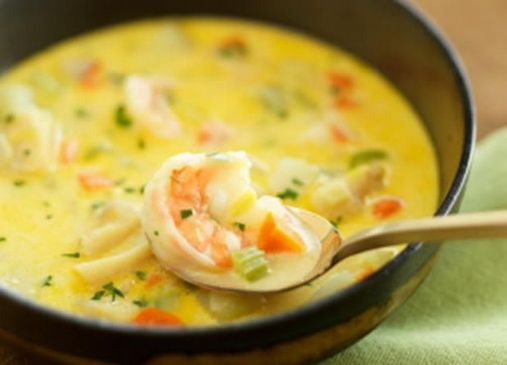 Slow-Cooker Fish Chowder from AllRecipes Magazine
