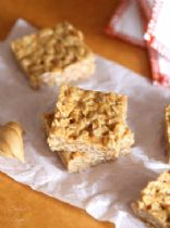 3 - Ingredient No Bake Peanut Butter Sqares