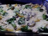 Chicken and Quinoa (or rice) Bake