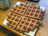 Whole Wheat Applesauce Waffle Cheat