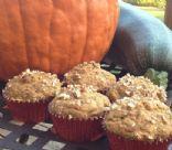 Low-Fat Pumpkin Zucchini Muffins