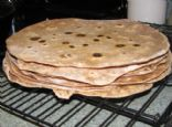 Whole Wheat and Flax Meal Tortillas