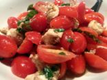 Grape Tomato and Mozzarella Salad