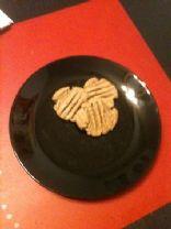 Brittnie's Vegan Peanut Butter Cookies