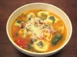 Tortellini Soup (By The Well-Fed Newlyweds)