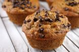 Low-Cal Banana Muffins with Mini-Chocolate Chips