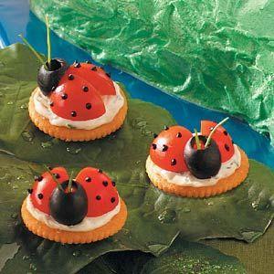 Ladybug Appetizers