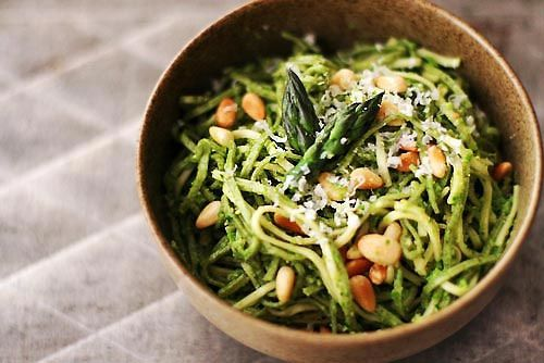 Asparagus Spinach Pesto