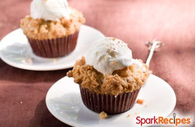 Lite Pumpkin Cream Cheese Muffins