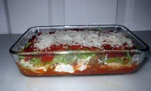 Veggie Baked Ziti from Cathe Freidrichs website
