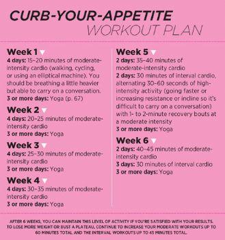 6week workout plan