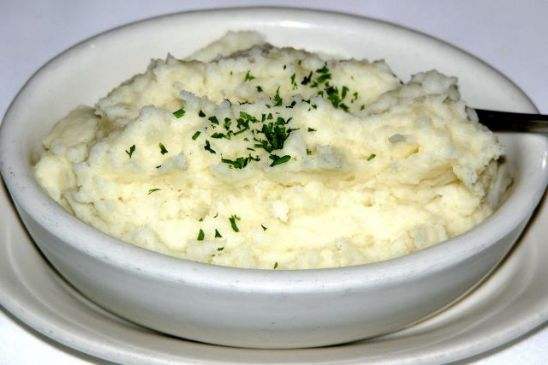 Garlic Mash Potatoes