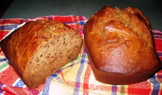 Ramona's Banana Nut Bread