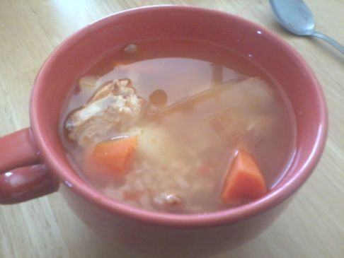 quick chicken soup