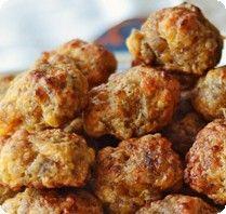 Cathy's Mini Sausage Cheese Balls