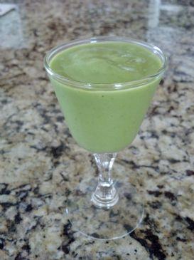 Green Smoothie (spinach, avocado, banana)